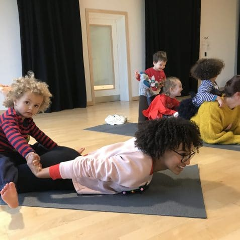 toddler yoga, Poplar Union, toddler yoga near me, things to do with families, East London, Tower Hamlets