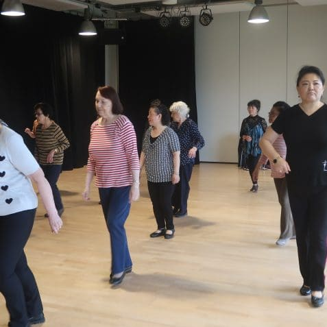 Social Dancing, Henry Guest, Dance class for over 65s, Poplar, East London, community class, things to do near me