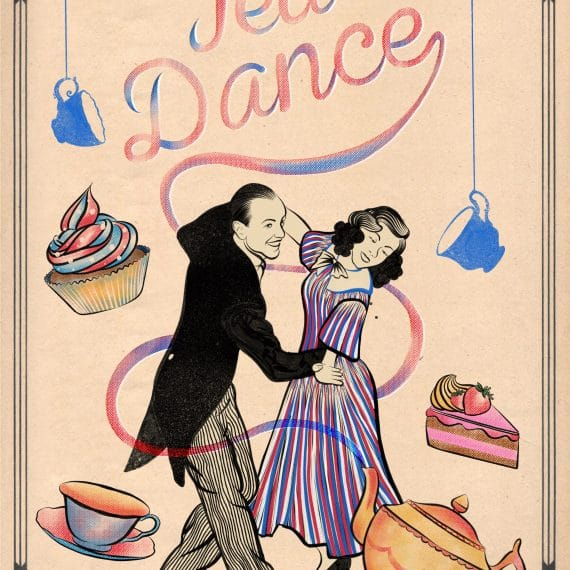 Tea Dance, community, poplar union, arts, music, ballroom, latin, social dancing, Poplar, Spring 2020