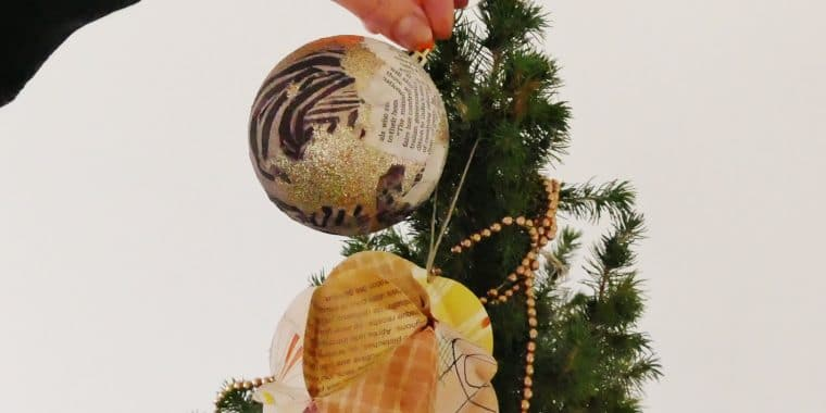 Festive Arts and Crafts, things to do, Christmas 2018, Decorations, maud barrett, arts and crafts, poplar union, culture, arts, creative
