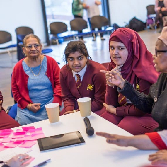 Magic Me, Poplar Union, Workshops, Women's Voices, Opinions, Storytelling, Conversations, Women in Focus Festival 2019, East London, multigenerational, Poplar, free, International Women's Day