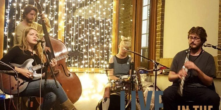 Alice Phelps Trio, poplar union, live in the library, break up blues, music, arts, culture, east London