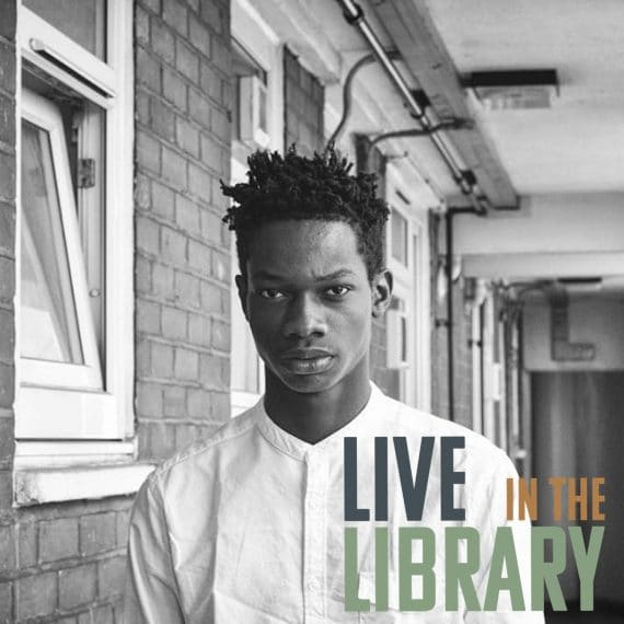 jay johnson, poplar union, live in the library, music, arts, culture, east London