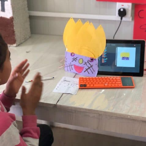 Creative coding, Poplar Union, Kano computing, East London, Coding workshop for kids