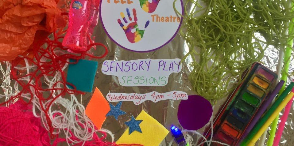 Feel Theatre, Poplar Union, east London, sensory play, kids, family, after school, art,