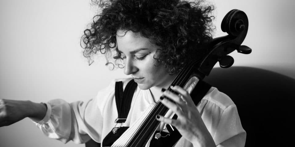 Francesca Ter-Berg, Jazz Herstory, Poplar Union, east London, jazz, gigs, gigs in London, cellist, improv, live electronics, Poppy Edwards, Ashley Paul, Simon Roth, women in jazz