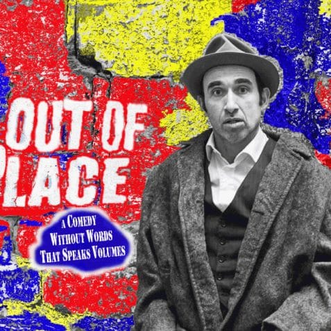 Out of Place, Guerassim Dichliev, Edinburgh Fringe preview 2018, comedy, clowning, whats on, things to do, theatre, east London, art centre, July