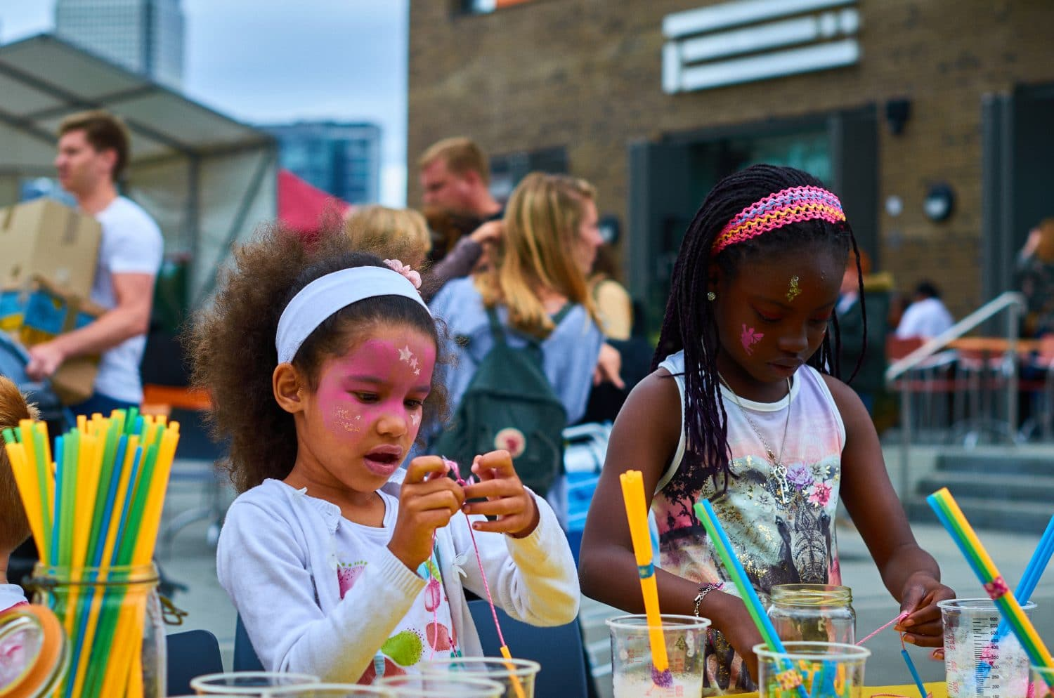 Poplar Union, Discover Poplar, Community street party, arts and crafts, east London, kids and family, art centre