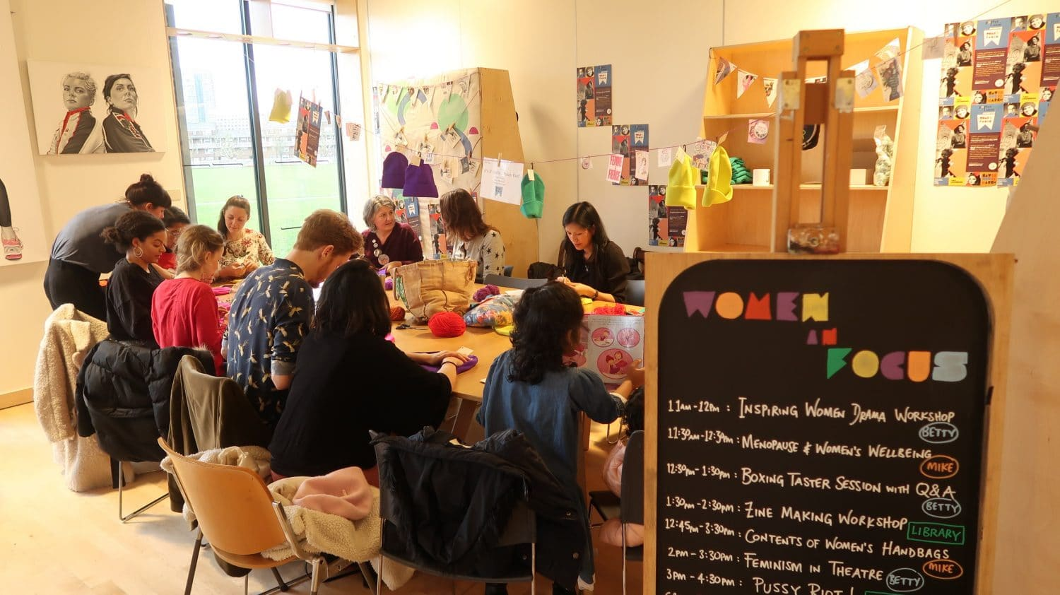 Poplar Union, Women in Focus Festival 2018, art centre, east London, your visit, Poplar, arts and crafts