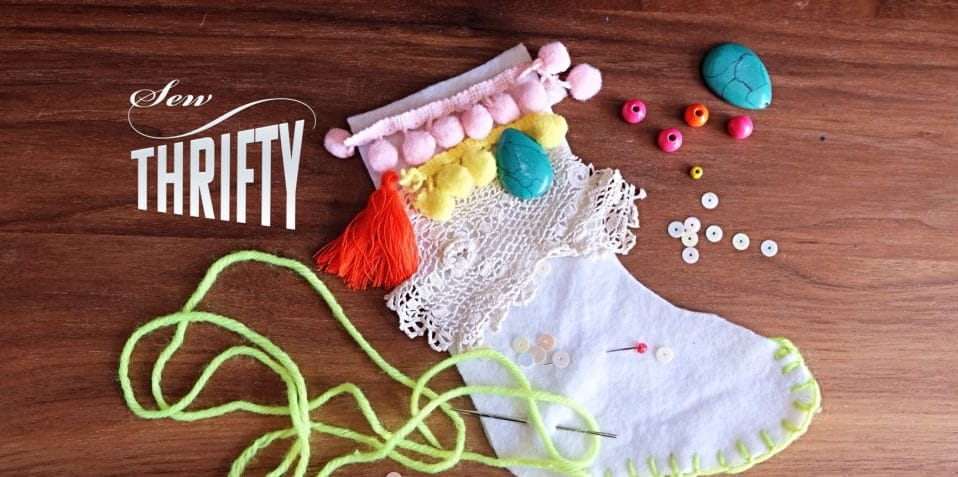Sew Thrifty, sewing workshops, Poplar Union, East London, Christmas arts and crafts, family arts and crafts, things to do, Christmas 2018, what to do in London this Christmas, arts and crafts, Maud Barrett, upcycling