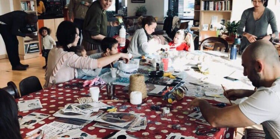 Christmas arts and crafts, things to do, family activities this Christmas, London workshops, Christmas decorations, Poplar Union, East London, e5 roasthouse, Mile End