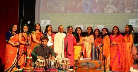 Bengali New Year, Gouri Choudhury Suraloy, Poplar Union, Bengali music, children's music lessons, East London, Mile End, Bow, Limehouse, Bengali music