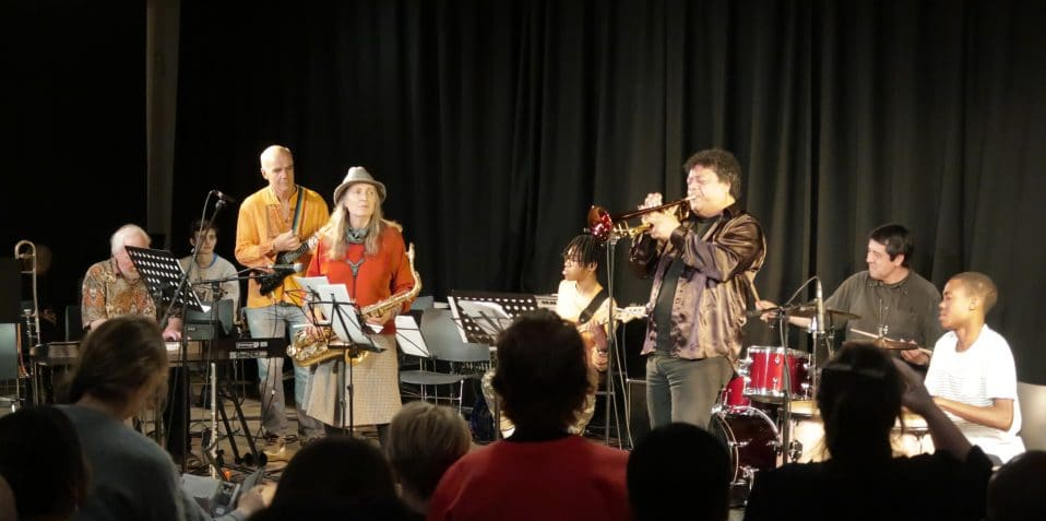 Grand Union, Poplar Union, Spotlight, music workshop, young musicians, East London, Half term, what to do February half term, Bengali music, free workshop for young people, Poplar, Mile End, Bow