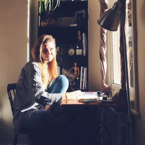 Liza Kozowyk, Poplar Union, Calligraphy, East London