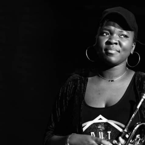 Ms Maurice, Poplar Union, Jazz Herstor, west African jazz, live jazz, gigs in London, Bow, Tower Hamlets, women in jazz, trumpet player
