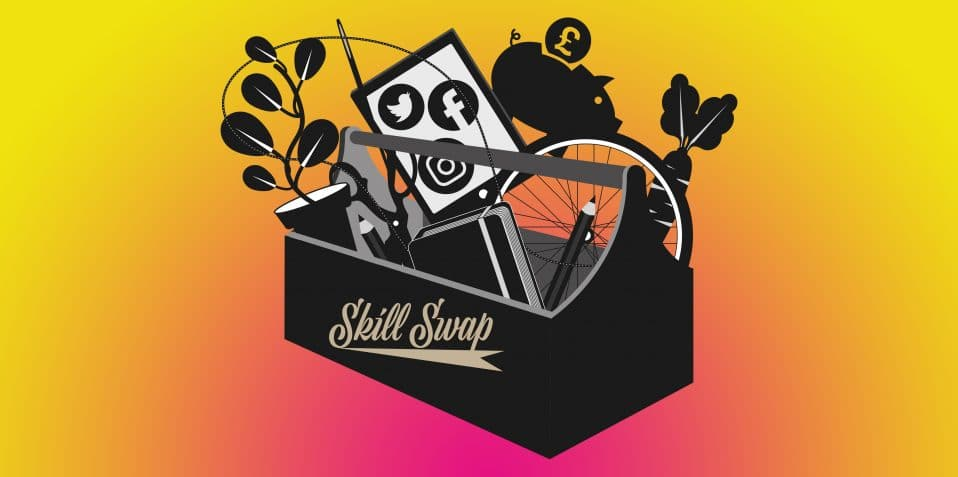POP-Skill swap, Poplar Union, free skill swap, workshop, East London, community