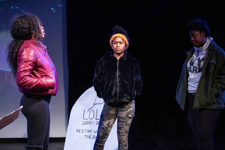 Tamasha Theatre, Graveyard Gang, Purple Moon Drama, Poplar Union, East London, Christmas