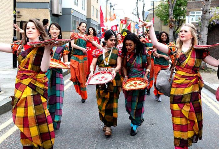 RadhaRaman Society, Bengali New Year celebrations, East London, free festival, April, Poplar Union, Rich Mix, Saudha, Bow, Poplar, Limehouse, Mile End, things to do