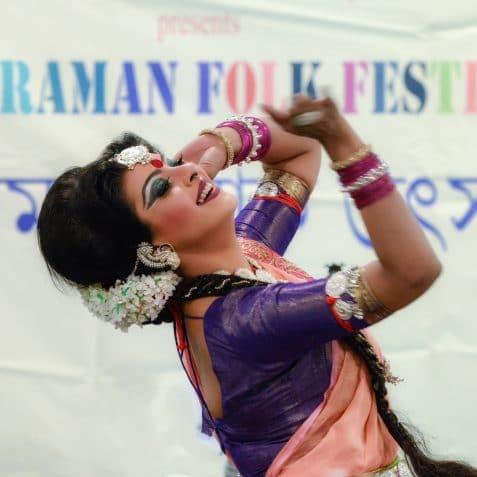 RadhaRaman Society, International Dance Day, Poplar Union, East London, traditional Indian dance and music, Tagore, Three Girls, Mou, Tanna, Baby, Tower Hamlets, Saudha