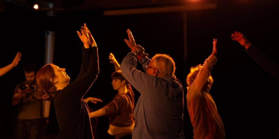 Dancing with Parkinson's, Danielle Teale, Poplar Union, dancing project, crowdfunding, Poplar, East London, social prescribing, charity, dance project, installation, National Ballet, community projects