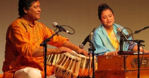 Yousuf Khan, Grand Union Orchestra workshop, Tabla lessons, learn to play the tabla, East London, South Asian music, Poplar, music lessons