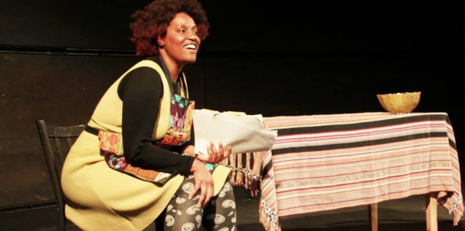 Making Black History: A night of new dance & theatre from artists of colour, Sabrina Richmond, Dickson Mbi, Sonny Nwachukwu, Black History Month 2019, Poplar Union, East London, Tower Hamlets