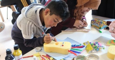 Bengali New Year, arts and crafts, workshop for the family, things to do with the kids, East London, Poplar, Poplar Union, Tower Hamlets, Free