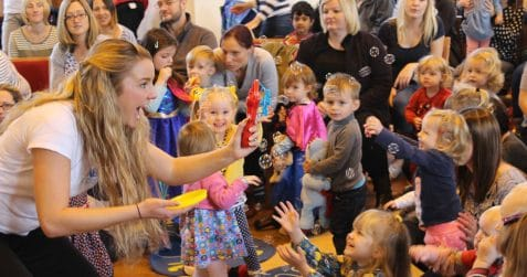 Baby broadway, Poplar Union, East London, kids entertainment, things to do with the kids, sing along, musicals