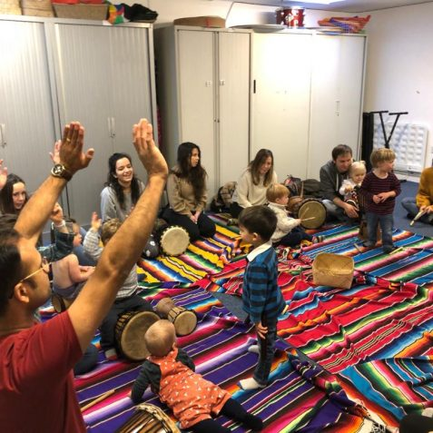 Famjam, Babybrain music, Poplar Union, baby music workshop, sensory play, East London, things to do with my baby near me, Poplar, Tower Hamlets