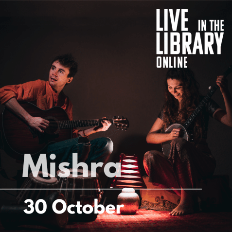 mishra, poplar union, live in the library online