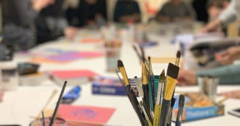 art class, poplar union, Tuesday art class, art workshops near me, affordable art course, east London, poplar, tower hamlets, paolo fiorentini, painting, drawing, mental health, art therapy