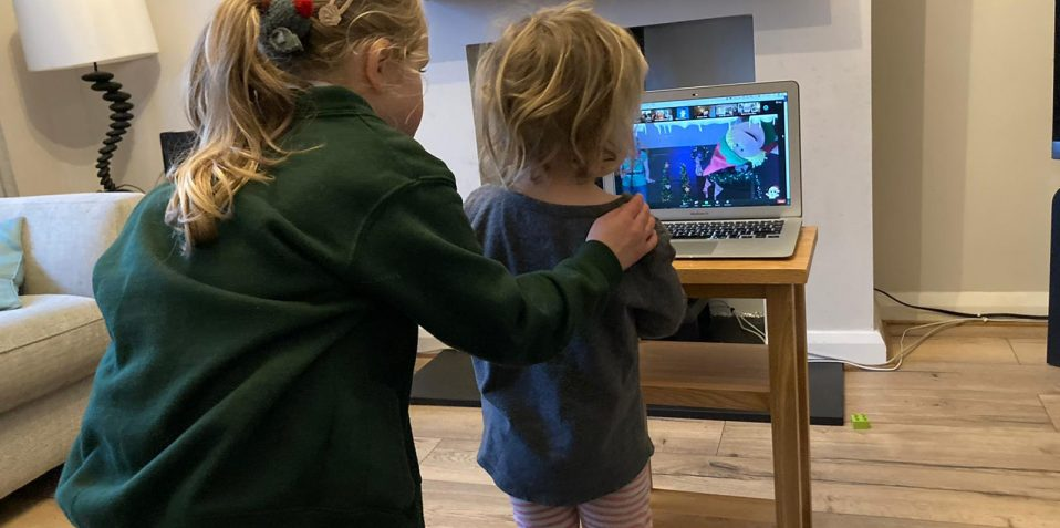 baby broadway, poplar union, online, kids singalong, east london, zoom