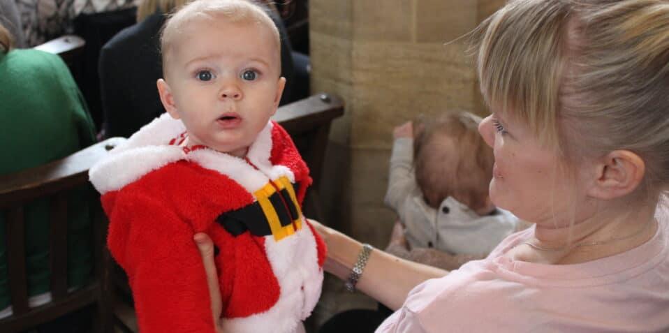 baby broadway, Christmas, baby theatre, poplar union, festive theatre, East London, December